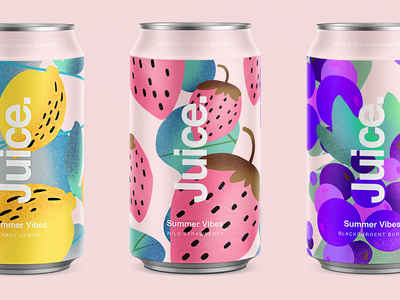 juice summery packaging ideas