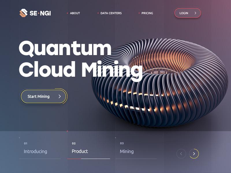 8b773629 web site design quantum mining blockchain bitcoin