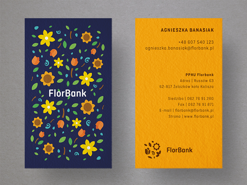 25 creative business card designs for your inspiration florbank business cards reheart Images