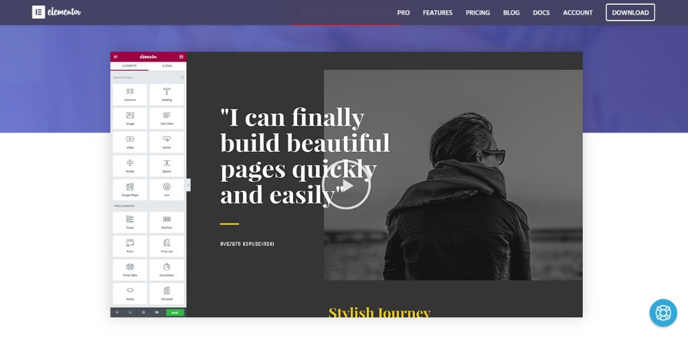Designing a WP website without coding? Do that with Elementor