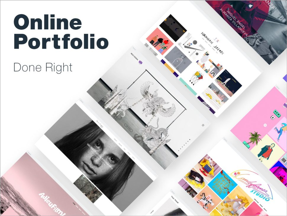 9996694cf So without further ado, here are 10 designers who used the unlimited  creative possibilities of Wix to imagine and realize portfolios that are  not only ...