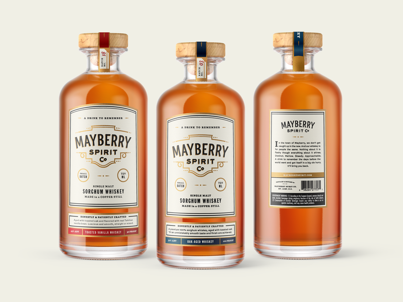 mayberrylables_2x packaging whiskey ideas