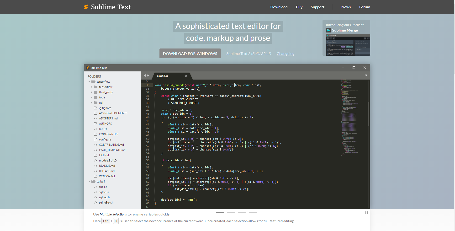 Best developer tools of 2020 sublime text home page