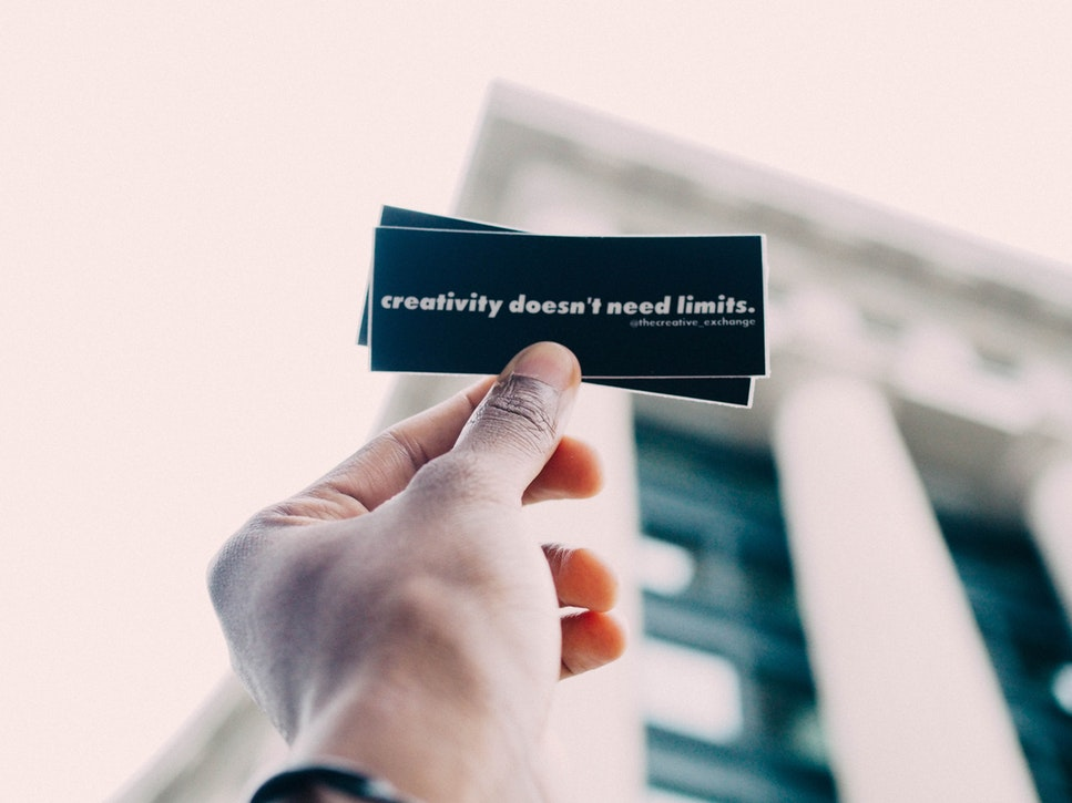 Rediscover creativity