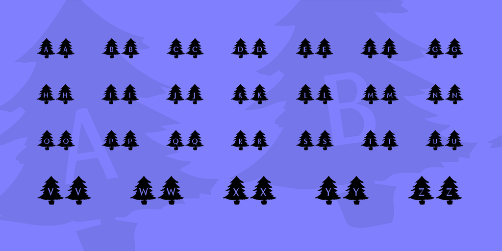 kr-oh-christmas-tree-font-2-big