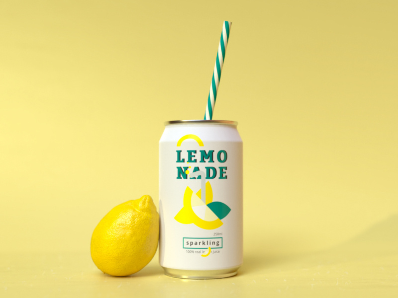 lemonade ad design trends 2020 realism