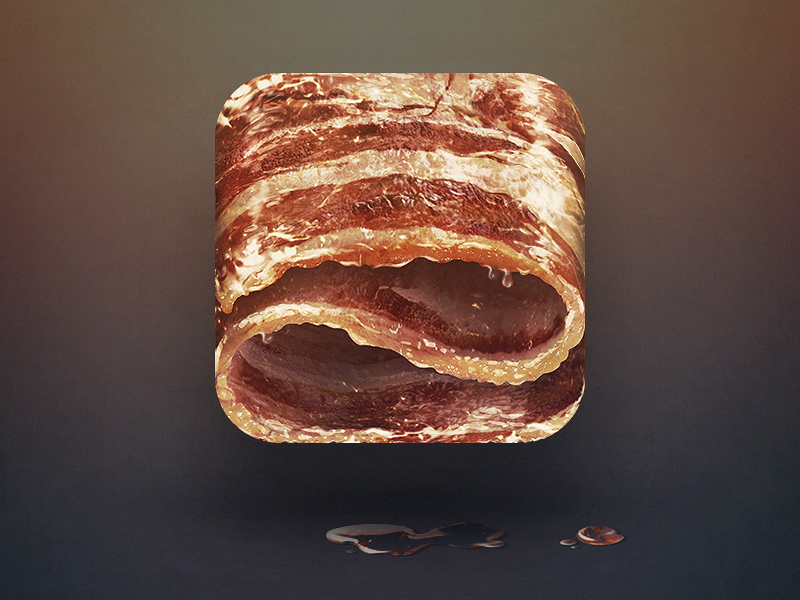 bacon-app-icon-design
