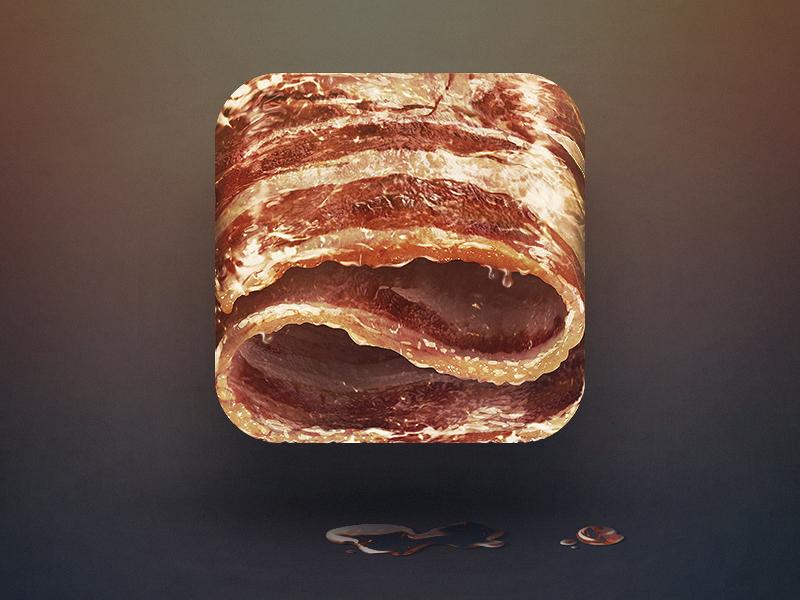 bacon-app-icon-design