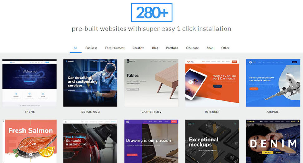 How to easily build websites for a variety of small businesses you dont have to limit yourself to one or two its simply a matter of browsing through bes 280 small business pre built websites solutioingenieria Images