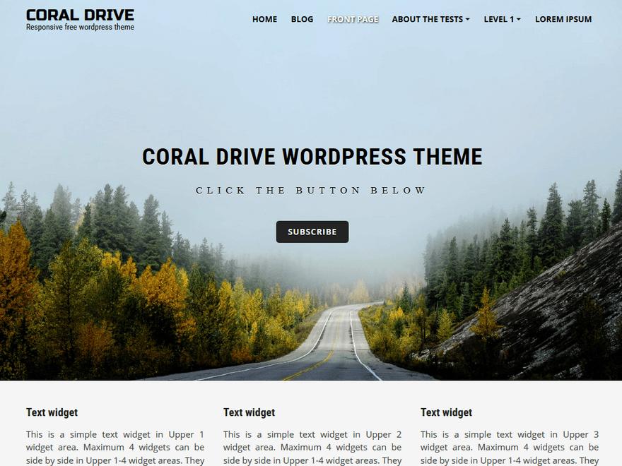 coral-drive-theme