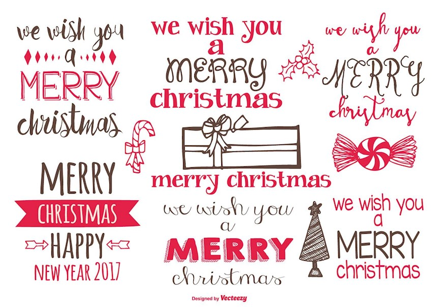 Merry Christmas Labels.20 Creative Free Christmas Labels That You Can Download
