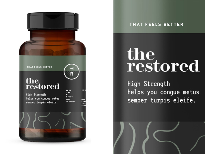 the-restored-packaging design for vitamins