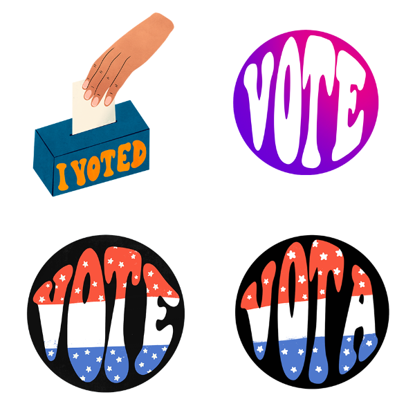instagram voting stickers