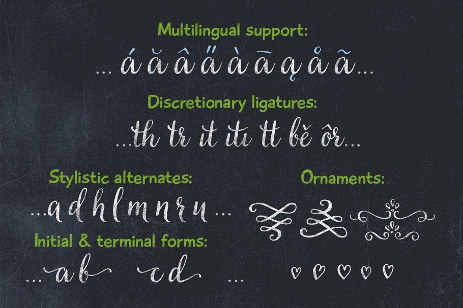 quality font