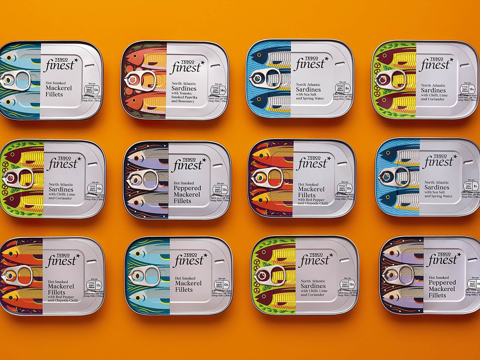 fish packaging branding design