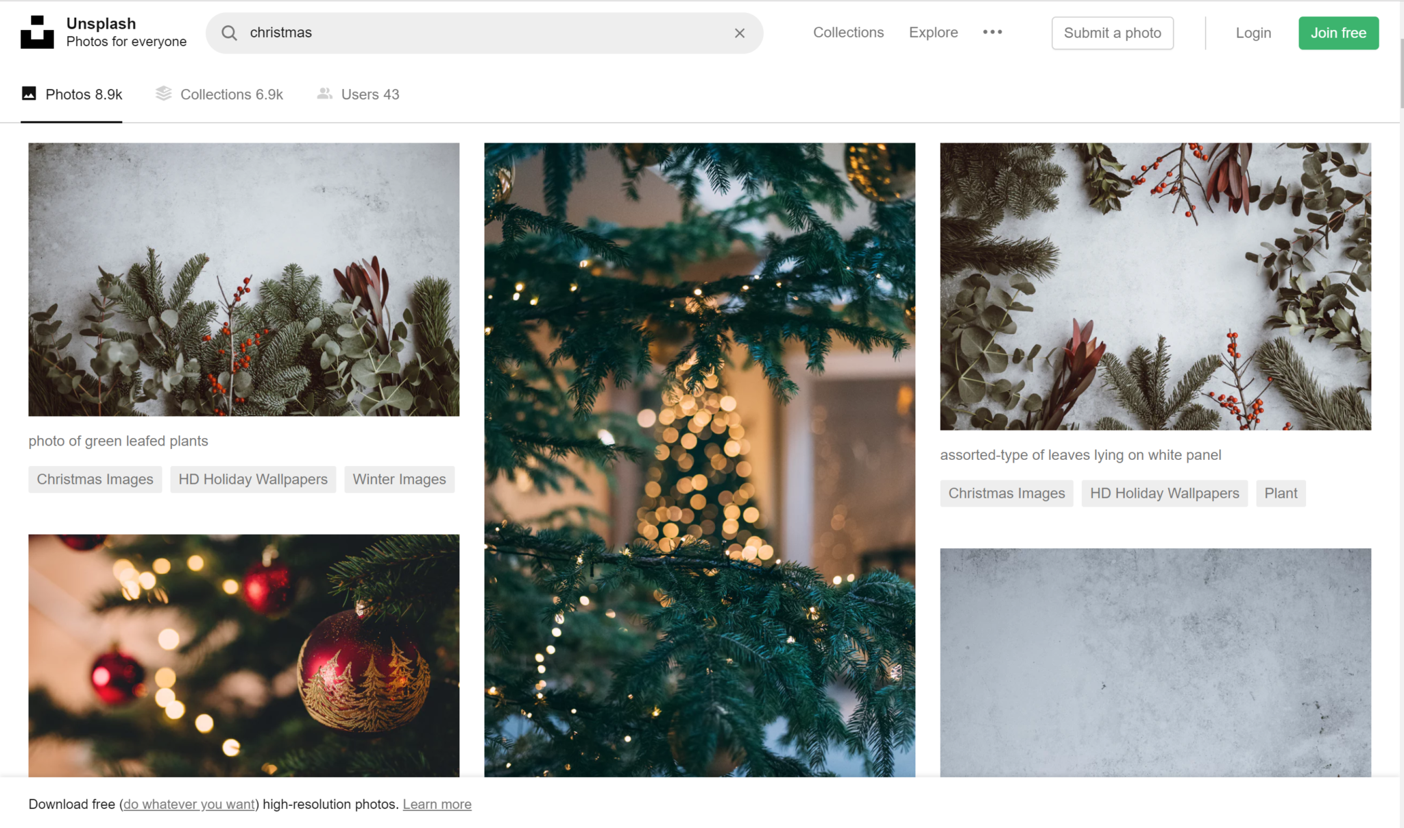 free images for christmas holidays