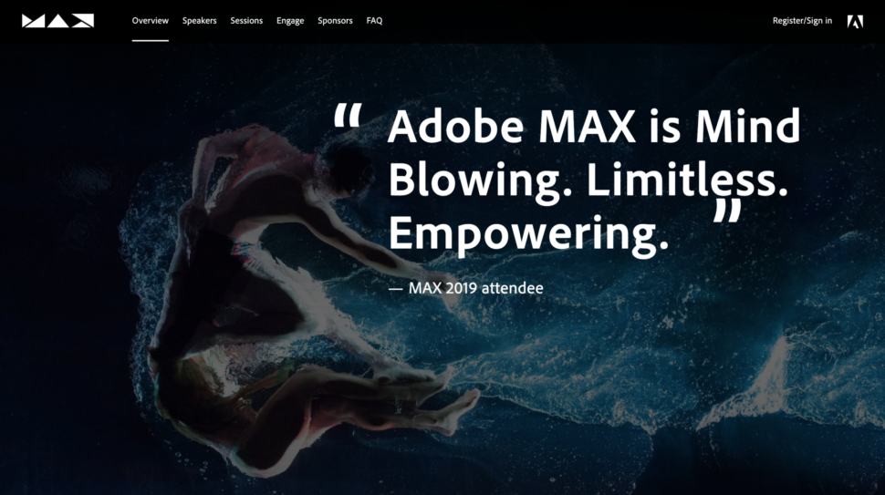 Adobe MAX 2020 Will Be Free For Everyone to Attend, So Sign Up Now!