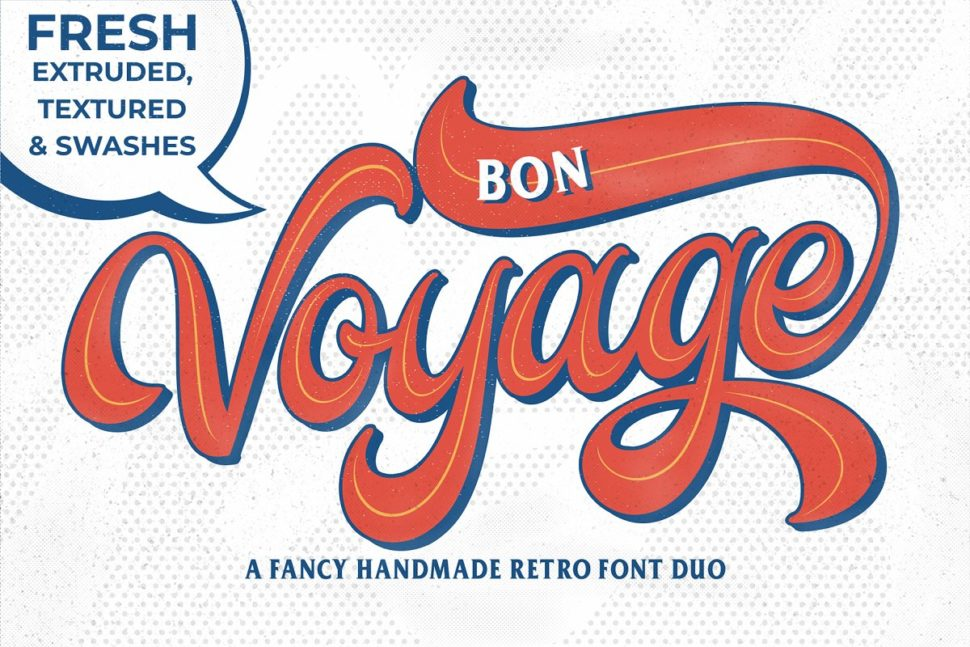 40 Of the Best Free Retro Fonts Picked by Professional