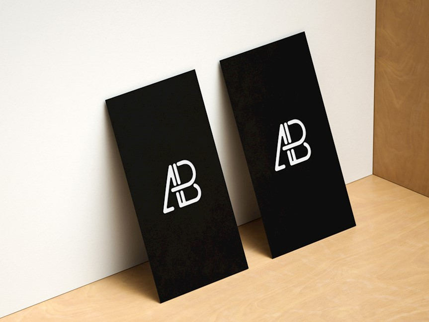 horizontal-and-vertical-business-cards