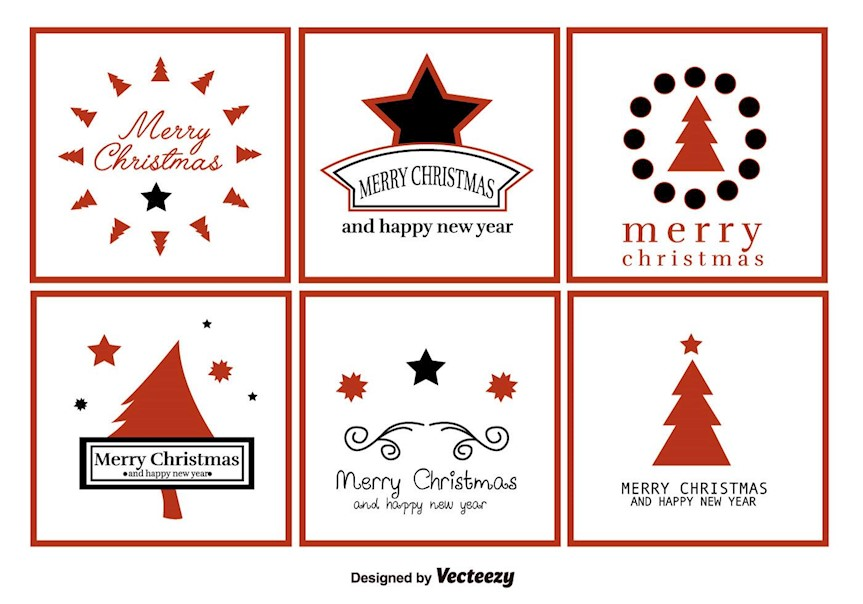 20 Creative Free Christmas Labels that You Can Download