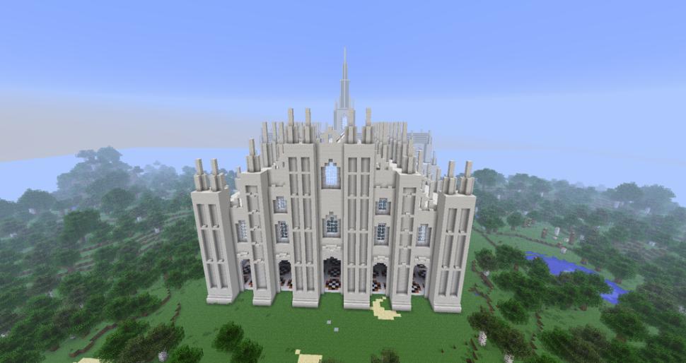 Minecraft duomo