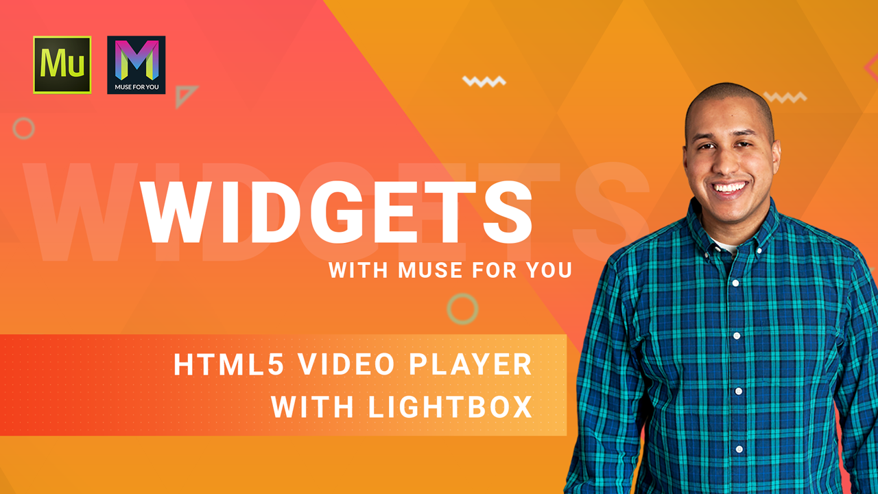 How to Add an HTML5 Video Player with Lightbox in Adobe Muse