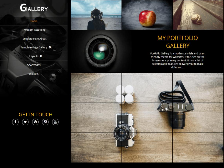 portfolio-gallery-theme