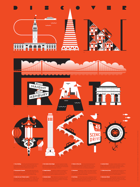 San Francisco Tourism Poster