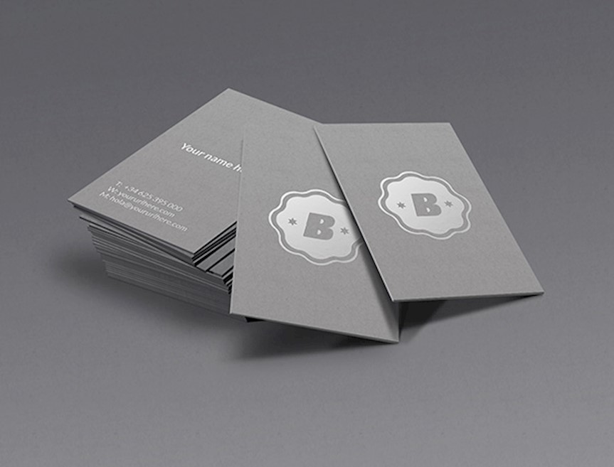 20 beautiful business card mockups to download for free b cards mockup free psd reheart Gallery