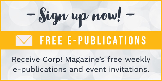 Subscribe to Corp! Magazine E-Publications