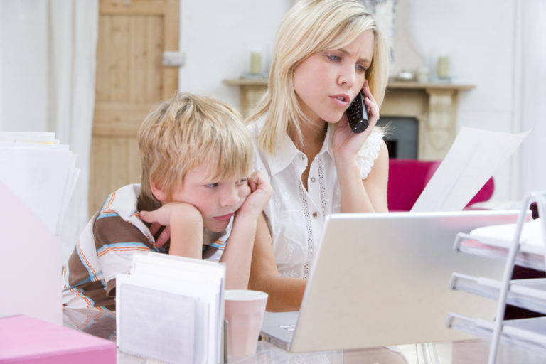 Here are 10 tips for working from home with children during emergencies