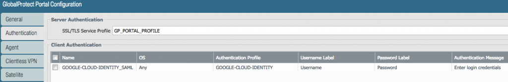 Google Cloud Identity as SAML IDP for Palo Alto Networks