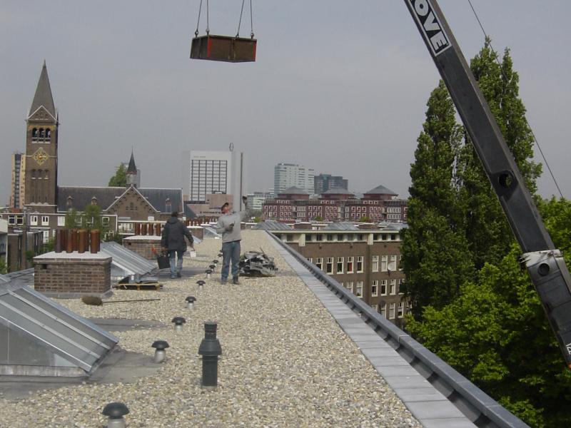 Buddingh Dakdekkersbedrijf - project-zink dakbedekking