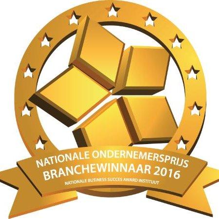 Nationale Ondernemersprijs Branchewinnaar 2016