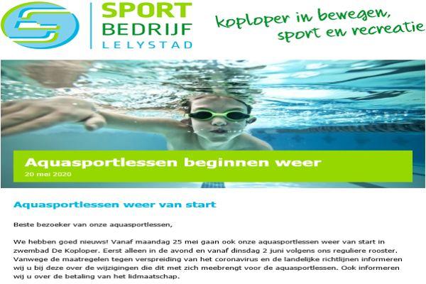 Nieuwsbrief_Aquasport