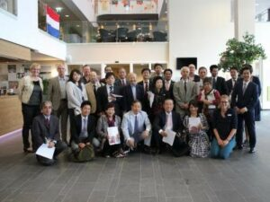 Japanse delegatie Woonzorg Flevoland