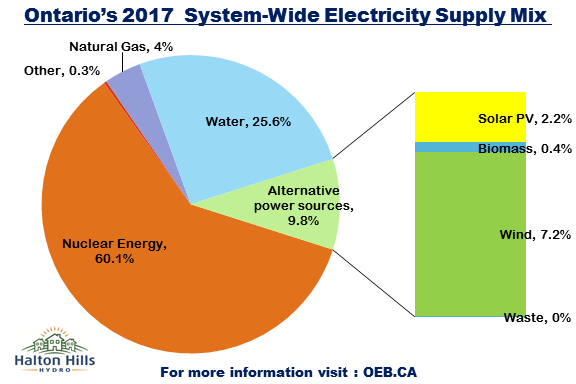 2017 Electricity Supply Mix