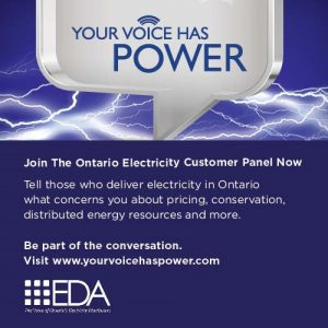 Join the Ontario Electricity Customer Panel