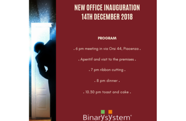 New Binary System's office inauguration