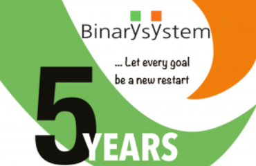 Binary System is 5 years old