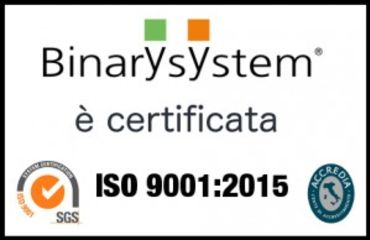 Certificato di Qualità Binary System