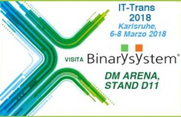 Binary System espone a IT-Trans 2018