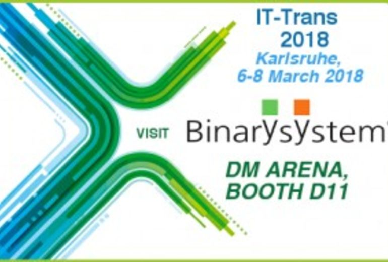 Binary System exhibits at IT-Trans 2018