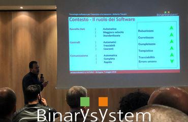 Binary System sponsor all'evento Man.tra del 7 maggio