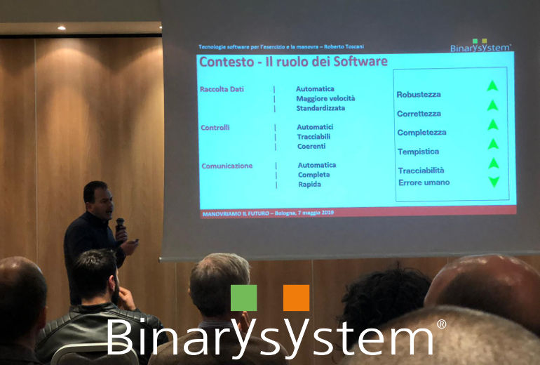 Binary System sponsor at Man.tra event of the 7th of May