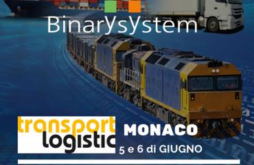 Siamo al Transport Logistic di Monaco