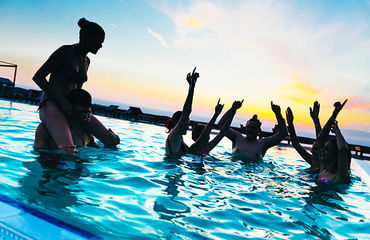 Binary System Pool Party