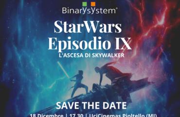 Star Wars 9 - La battaglia finale in compagnia di Binary System