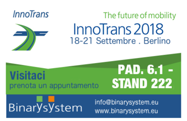 Visita Binary System a Innotrans!