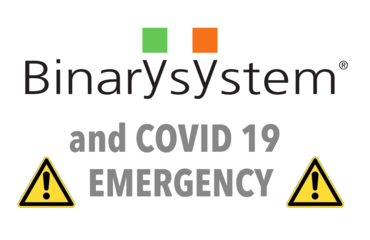 Binary System and preventive measures for the COVID19 spread containment